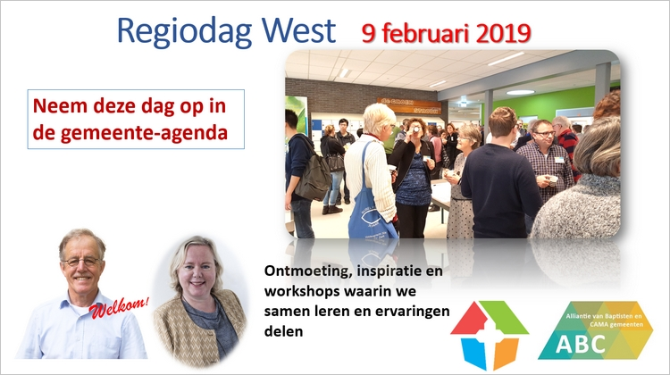 Regiodag West 2019 vooraankondiging