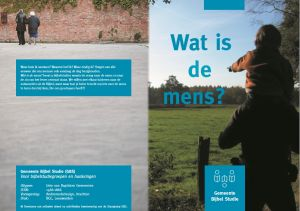 GBS 12 Wat is de mens?