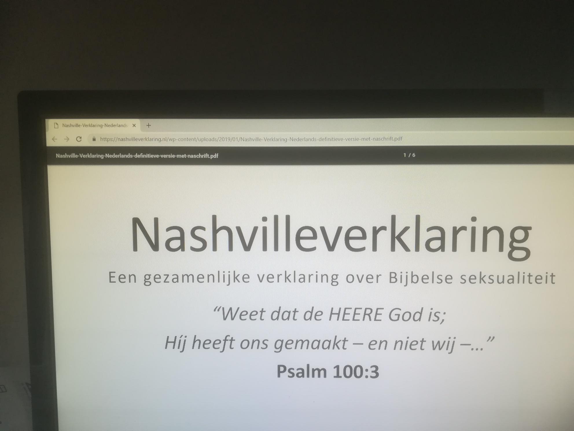 De Nashville Verklaring en de noodzaak van goede theologie